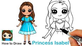 How to Draw Princess Isabel | Disney Elena of Avalor