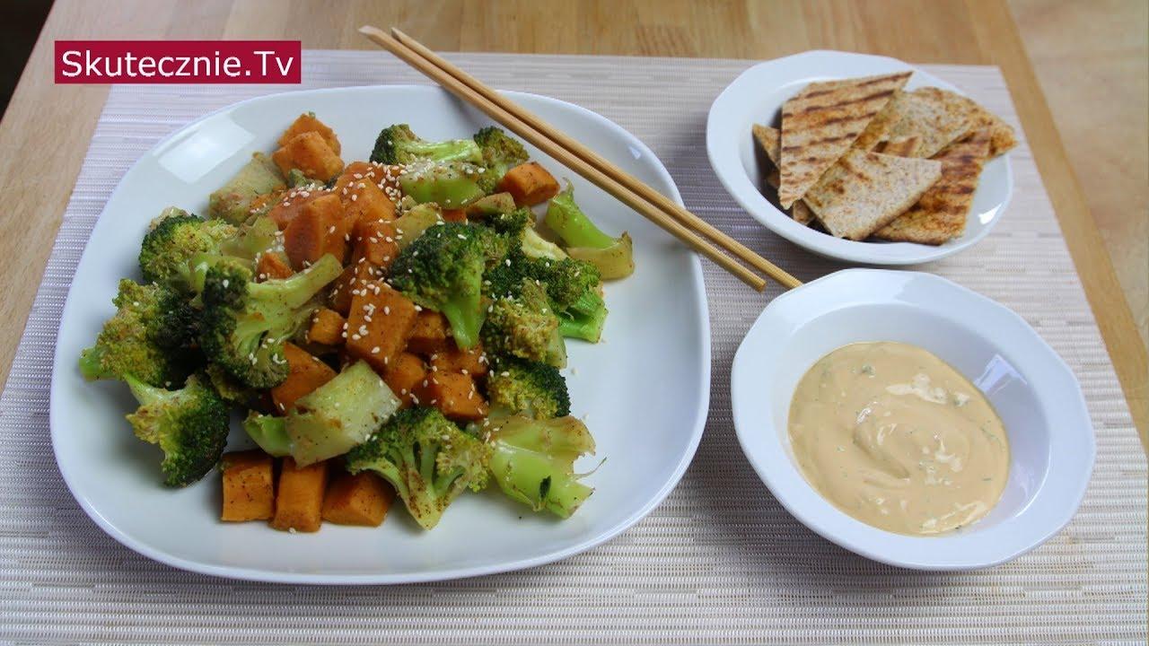 Brokuły i batat '5 smaków'. Plus sos;) :: Skutecznie.Tv [HD]