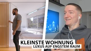 Justin reagiert auf Mini Luxus Apartment.. | Reaktion