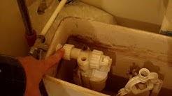 comment réparer la fuite du flotteur WC (joint de membrane toilette)