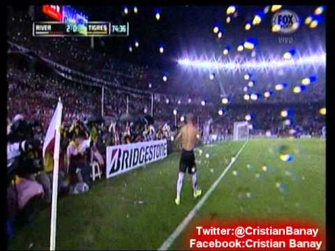 River 3 Tigres 0 (Fox Sports Mexico)  Final Copa Libertadores 2015