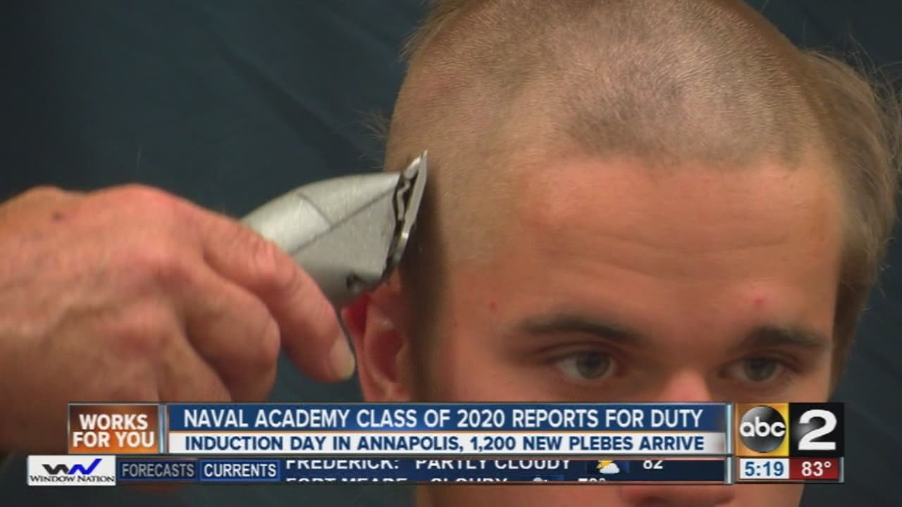 Class of 2020 reports for duty at Naval Academy in Annapolis