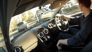 Driving: Vauxhall Corsa VXR #20