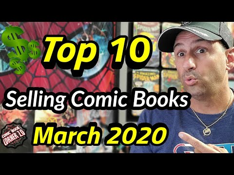 TOP 10 Selling Comic Books For March 2020