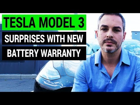 Tesla Model 3 Surprises With Its Battery Warranty