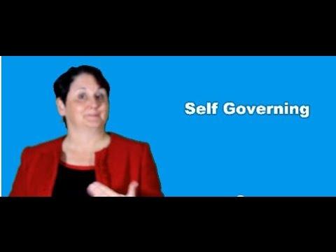 Self Governance