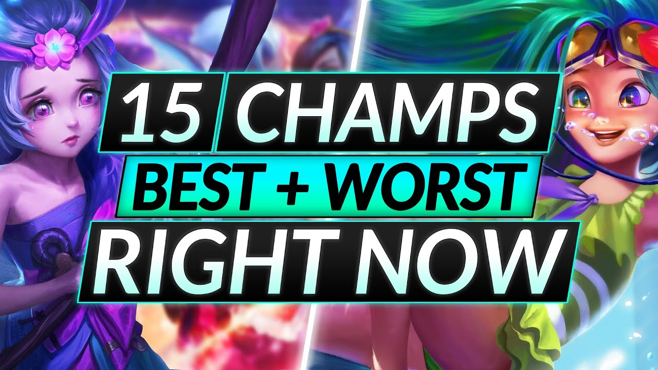 Download 15 MOST and LEAST BROKEN Champions RIGHT NOW - Tips for Patch 11.15 - LoL Guide