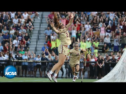 BC's Sam Apuzzo's Sudden-death Goal In NCAA Semifinals | FULL SECOND OVERTIME