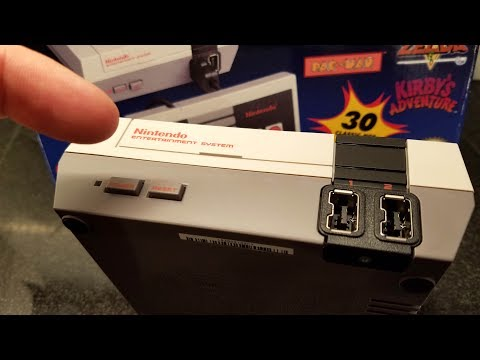 NES CLASSIC EDITION Hookup