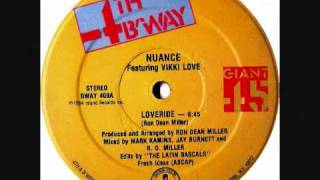 Nuance Feat. Vikki Love - Loveride