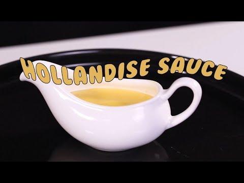 Cách Làm Hollandaise Sauce Chuẩn Nhà Hàng Âu   Hướng Nghiệp Á Âu
