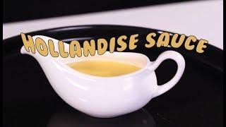 Cách Làm Hollandaise Sauce Chuẩn Nhà Hàng Âu | Hướng Nghiệp Á Âu