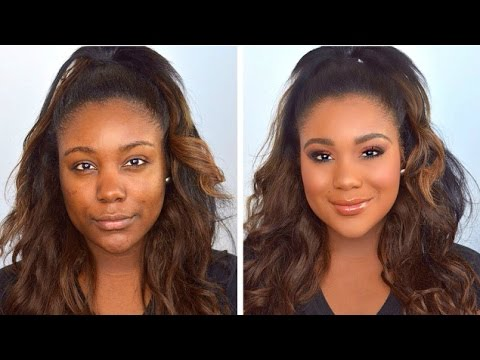 FLAWLESS Drugstore Foundation Routine 2015 I Everyday Makeup ...