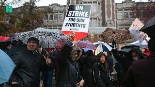 Los Angeles Teachers On Strike