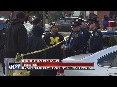 Man shot dead an Inkster apartment complex