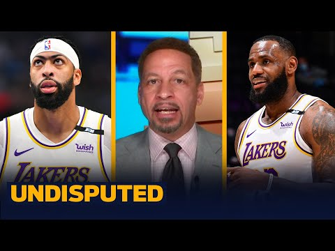 The Lakers shifting AD & LeBron to new positions isn't a bad idea — Broussard I NBA I UNDISPUTED