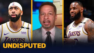 The Lakers shifting AD \u0026 LeBron to new positions isn't a bad idea — Broussard I NBA I UNDISPUTED