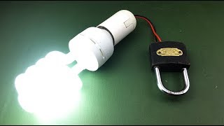 Science Electric Free Energy Using Lock with Magnet Technology For 2019