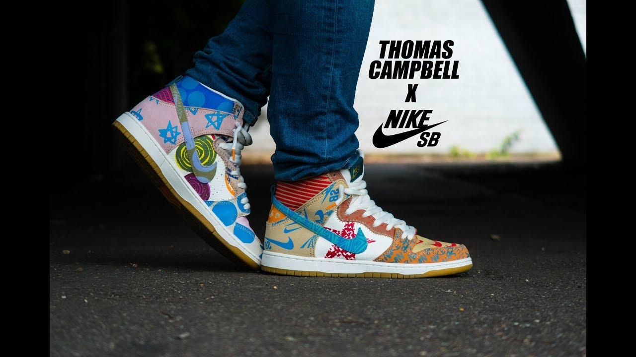 the best attitude 9bc39 d2741 Thomas Campbell x Nike SB Dunk   Ash Bash