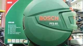 BOSCH - Zestaw malarski PFS65 - Pistolety natryskowe - Pistolet do malowania