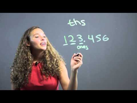 How to Learn to Count Decimal Places : Math Concepts