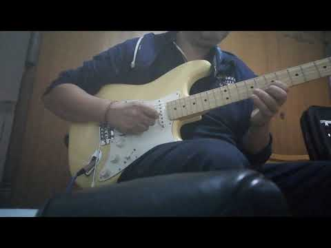 Fender Stratocaster Player Series and Boss Katana - Test 2 Clean sound