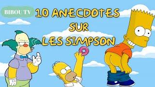 10 ANECDOTES ÉTONNANTES sur LES SIMPSON