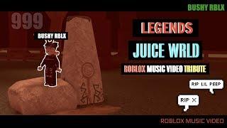 """Legends"" - Juice WRLD (Roblox Music Video Tribute) | BUSHY RBLX"