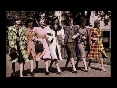 1940's and 1950's Fashion and Life!