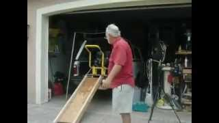 Truck Load Lifting Tool  -  Home Made