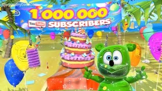 One Million Subscribers!! The Official Gummibär Channel! Time To Party!