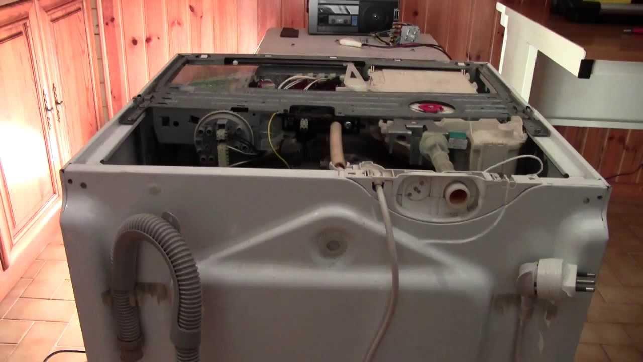 Riparazione lavatrice  Apertura carrozzeria Robotline e