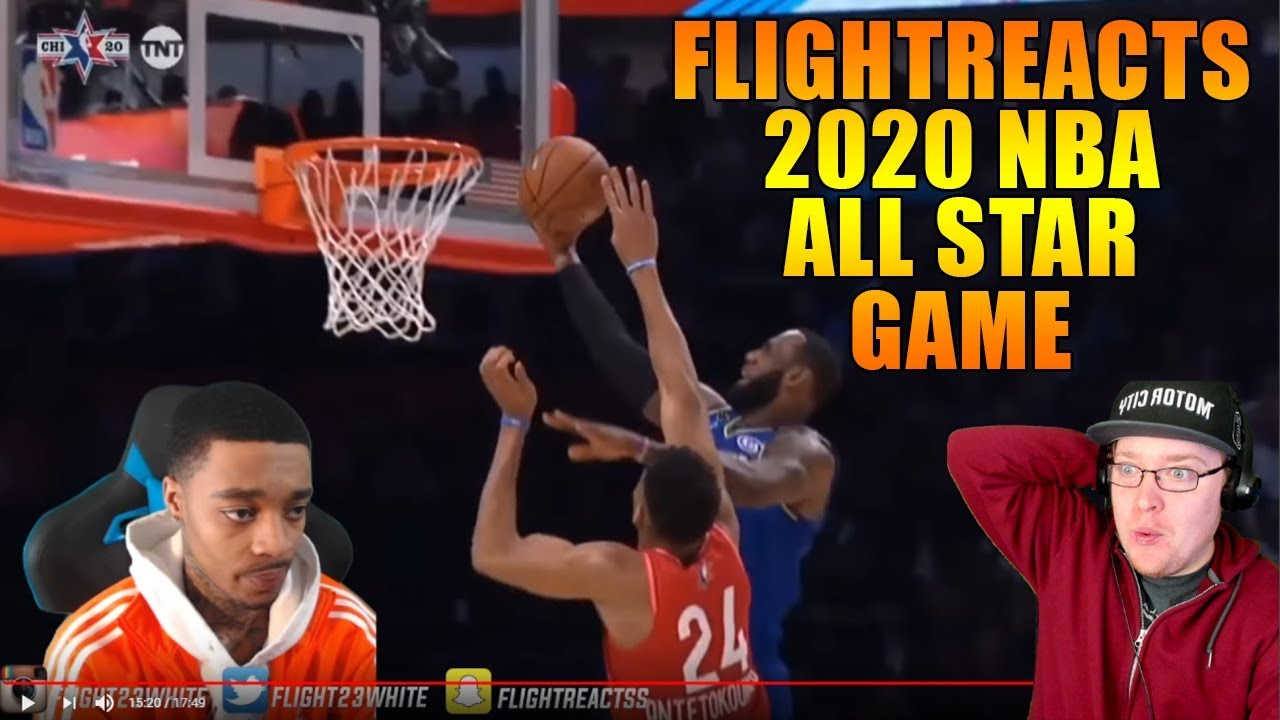 Reacting To FlightReacts 2020 NBA All Star Game