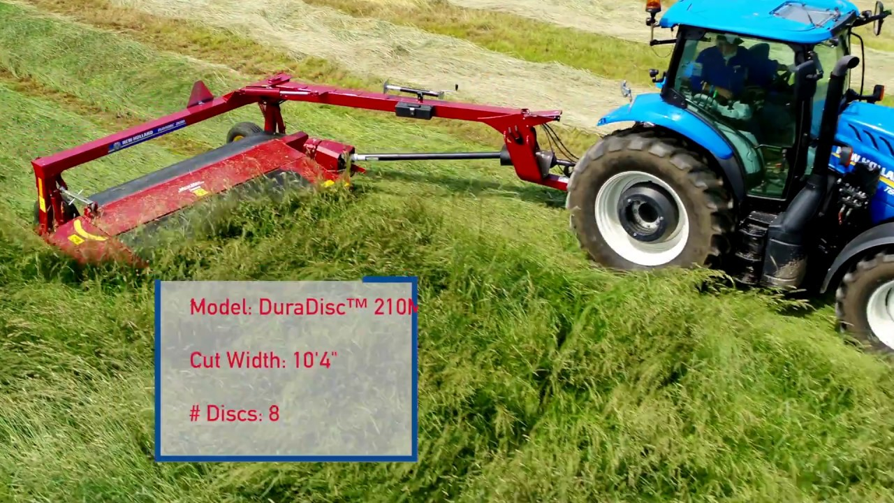 Machinery Minute: DuraDisc™ 210M Trailed Heavy-Duty Disc Mower