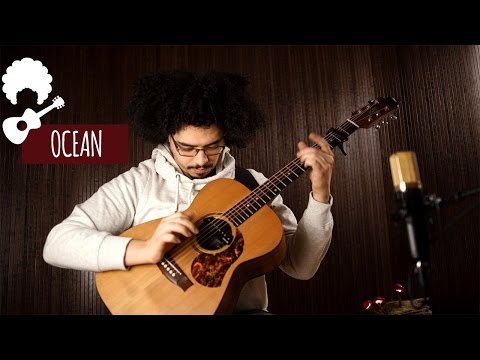 Farid Ben Miles - Ocean (John Butler) // Fingerstyle Cover #1 - One Shot Sessions (FREE Audio & Tab)