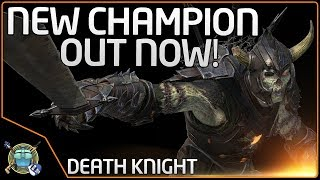 NEW CHAMPION Just Released! - DEATH Knight (Quake Champions)