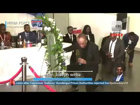 Hon Joseph Wirba's Emotional Tribute To Fallen At Book Launch In London