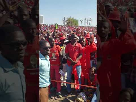 Chamisa declared President of Zimbabwe at Anniversary Rally