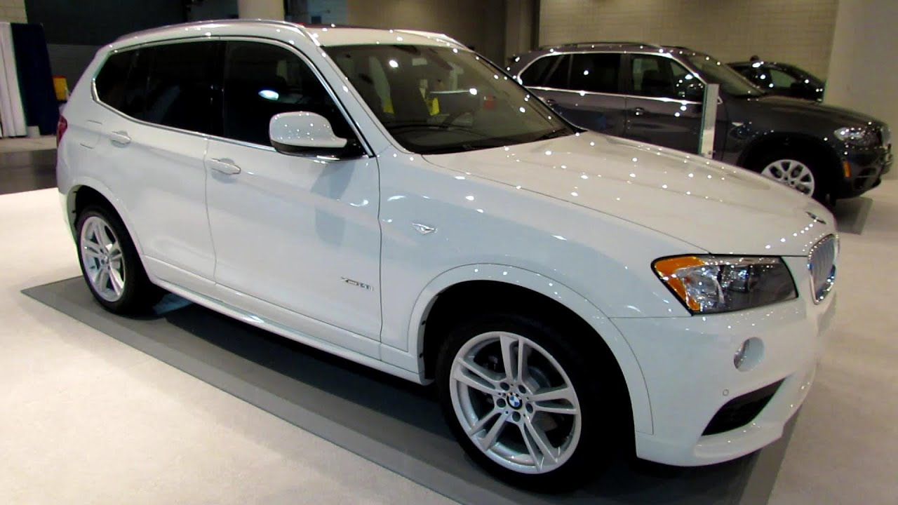 2013 Bmw X3 Xdrive 28i Exterior And Interior Walkaround 2013 New York Auto Show Youtube