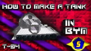 Roblox BYM How to Build a Tank