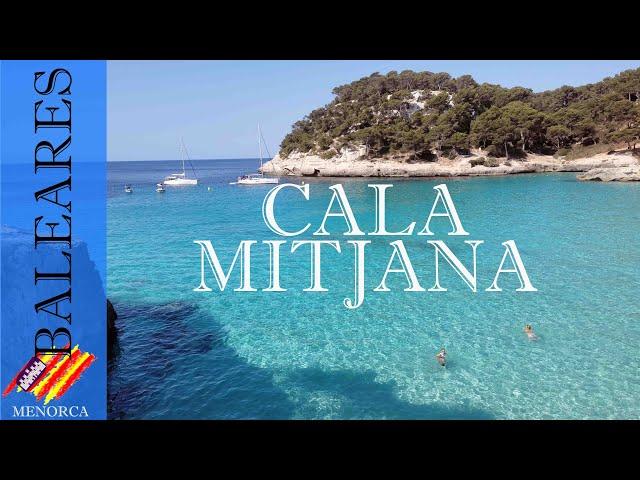 Cala Mitjana y Mitjaneta aguas azules y cristalinas | Menorca #11