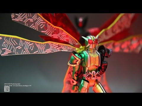 SH Figuarts Kamen Rider W Cyclone Joker Extreme Gold Review - 동영상