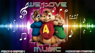 [HD] Kanye West feat. Daft Punk  - Stonger [Chipmunks Version] [Lyrics]