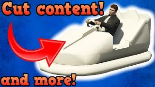 GTA5 cut and obscure features/objects/content!