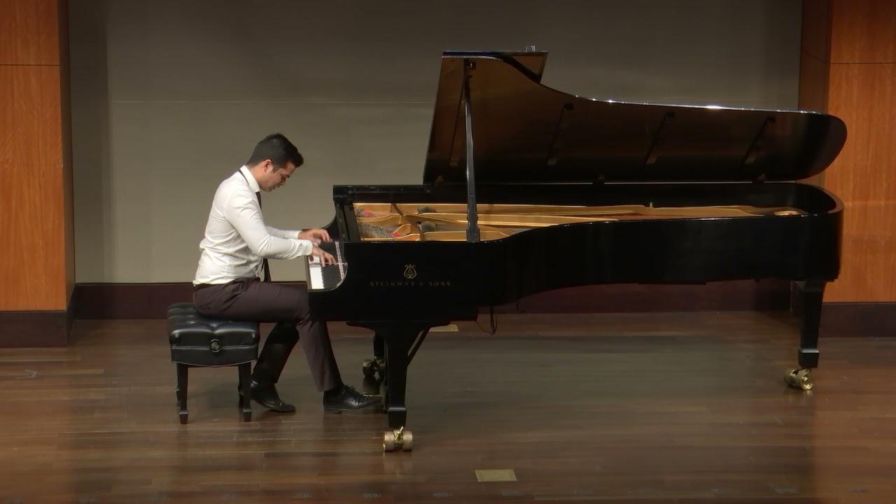 Ahmed Alom plays Schumann: Symphonic Etudes op. 13