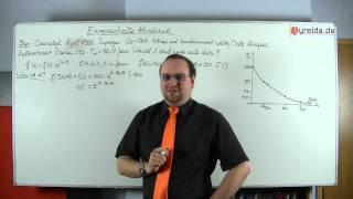 exponentieller Zerfall - Lyrelda.de