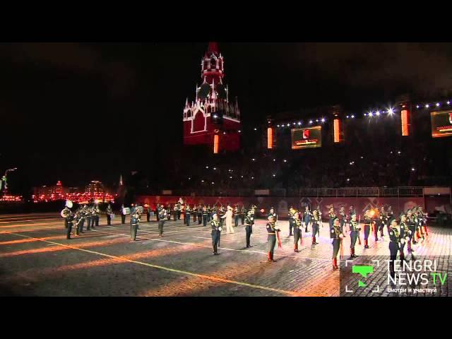 Как казахстанцы зажгли Красную площадь на фестивале Спасская башня