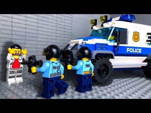 Мультфильм лего полиция видео
