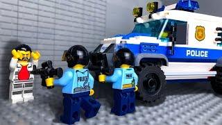 LEGO Ограбление Музея 🧤 Мультики про ЛЕГО Полицию 🔫👮