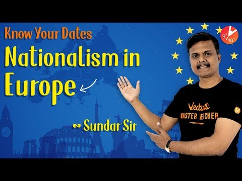 Nationalism in Europe L1 | Know your Dates | History CBSE Class 10 SST | NCERT | Vedantu Class 10